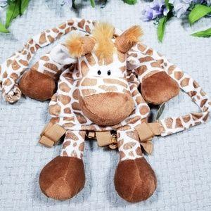 2/$24 Jeep animal giraffe backpack safety harness